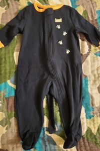 6-9 months Infant Halloween pajamas